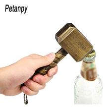Magnet Beer Bottle Openers Multifunction Hammer Of Thor Shaped Opener With Long Handle Bottler