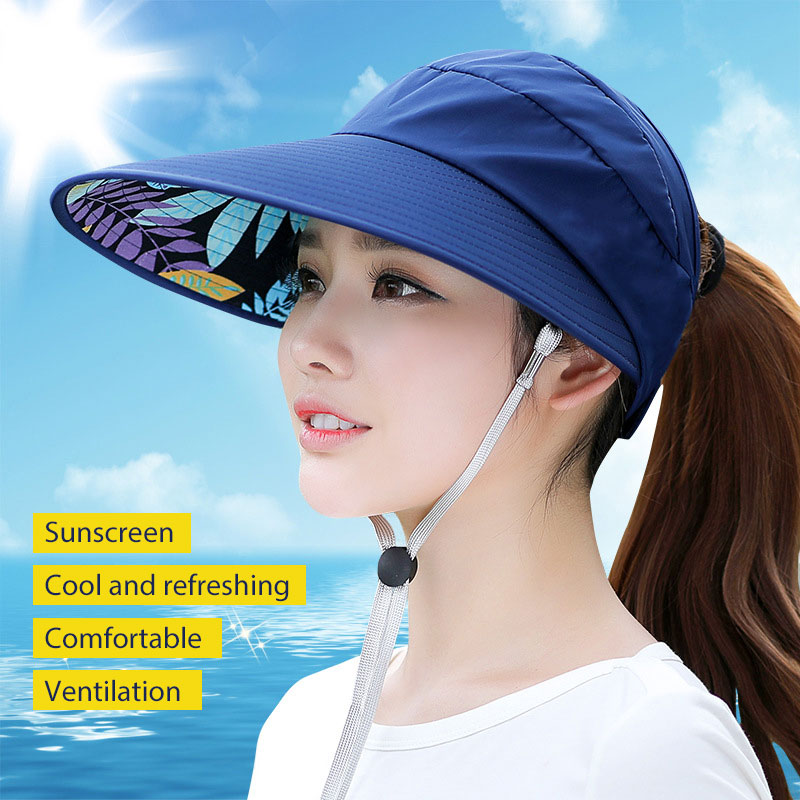 Outdoor Hat Travel Cap Sunscreen Ventilation 4 Colors Canvas Apparel Sun Visors Durable Comfortable Beach Sunscreen Cap