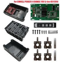 20V obudowa baterii litowo jonowej osłona ochronna płytka obwodu drukowanego zestaw do Einhell Power x change 18V Li ion 4511396