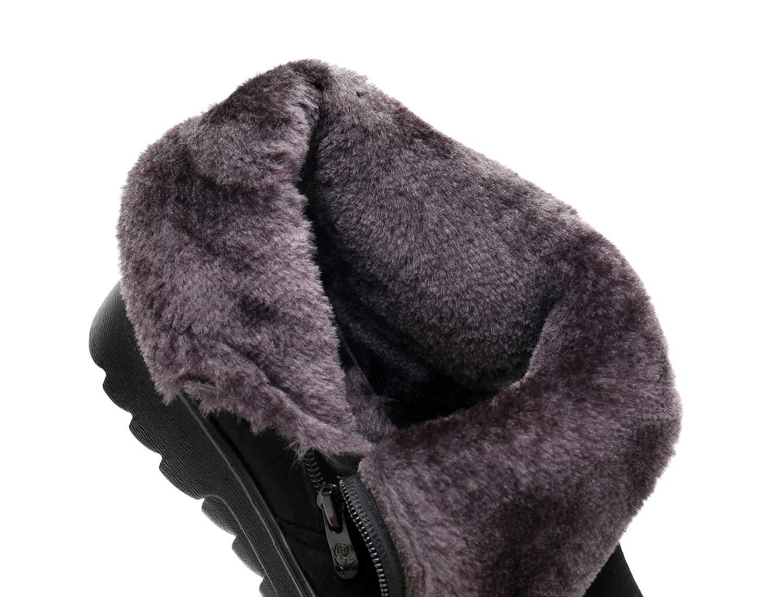 Yeni Kadın Kış ayakkabı Kar Botları kadın Süper Sıcak ucuz Sneakers yarım çizmeler anne ayakkabısı büyük boy ayakkabı fabrika st480