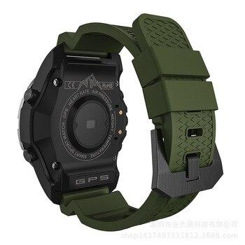 Wilde Activiteit Apparaat S966 Gps Smart Horloge Waterdicht Smartwatch Voor Gps Track Altitude Kompas Barometer Functie-in Smart watches van Consumentenelektronica op