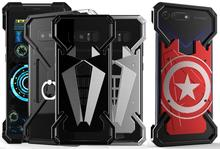 Super Hero Metal Case For Huawei Mate 20 Pro Lite 10 9 Honor 9x Cover Iron Man Spider Ring Phone Shell Bag