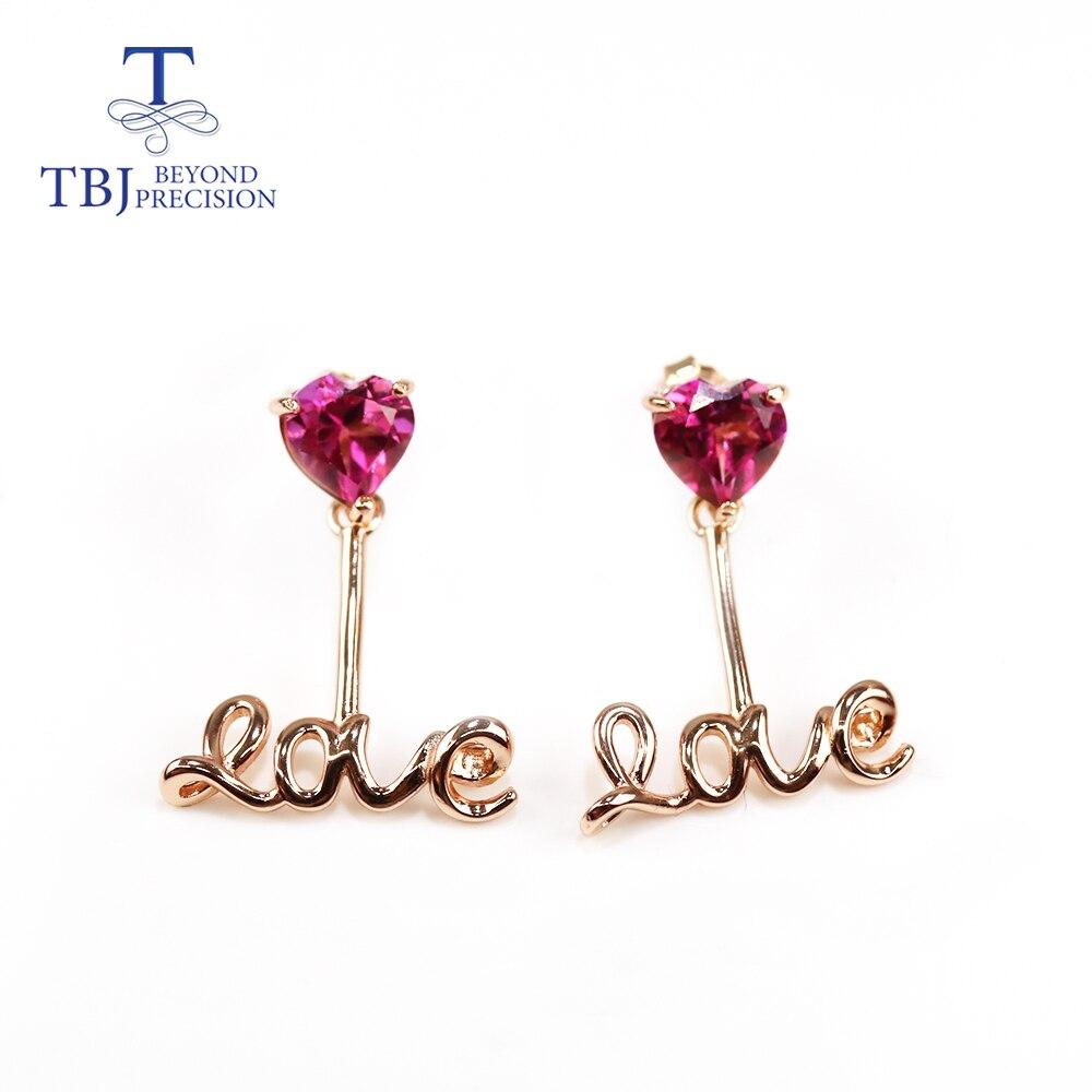 Topaz Earring-925-Sterling-Silver Jewelry Gemstone Natural LOVE New for Girlfriend Brazil