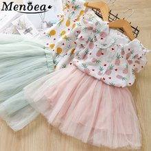 цена на Girls Dress 2016 Brand Girls Summer Dress Kids Clothes Sleeveless Striped Print Pattern for Girls Princess Dress