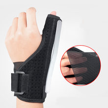 Protector médico para pulgar y muñeca, soporte de mano, férula de acero, estabilizador de artritis, túnel carpiano, soporte para dedo, 1 Uds.