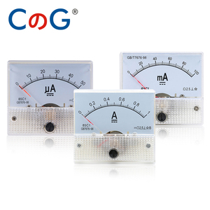 85C1 Ammeter dc Analog Meter Panel Pointer Type 1A 2A 3A 5A 10A 20A 30A mA μA AMP Gauge Current Mechanical Ammeters with Shunt(China)