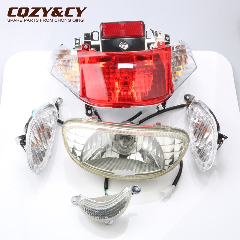 Scooter Headlights & Taillights & Turn Signals & Decorative Lights For Baotian BTM BT50 BT49QT-9 50cc 49cc