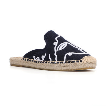 Tienda Soludos Espadrilles Slippers For For Flat 2019 Real Special Offer Hemp Summer Rubber Print Woman Shoes Mules Pantufa  4