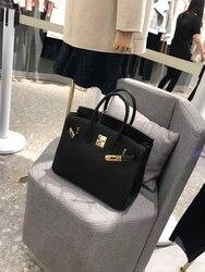 Бесплатная доставка, новый стиль, Модная Золотая фурнитура, натуральная коровья кожа, женская сумка на одно плечо, сумка через плечо, 26 цвето...
