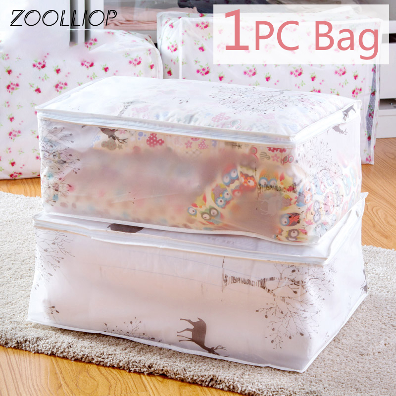 1Pc Fashion hot 2020 Household Items Storage Bags Organizer Clothes Quilt Finishing Dust Bag Quilts pouch Washable quilts bags|Storage Bags|   - AliExpress