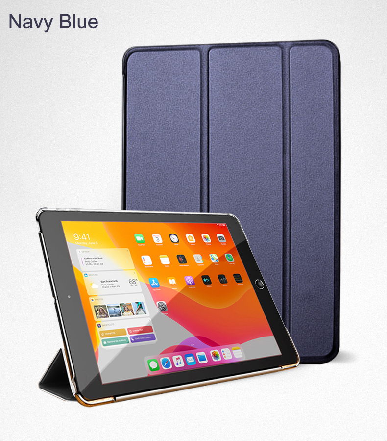 Smart Wake Full Air Leather 2020 Cover For iPad Flip Trifold PU 10.9 Stand Case Auto
