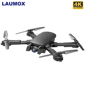 LAUMOX M66 RC Drone with 4K Camera Wide Angle Optical Flow Positioning Gesture Photo Wifi FPV Foldable Quadcopter Dron Vs E58