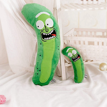 Plush-Toys Soft-Pillow Morty Pickle Christmas-Gifts Rick Funny Doll Kids Cute for Children