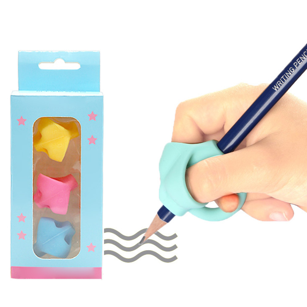3pcs Diy Pencil Grips Artifact Preschool Learning Writing Braces Children Beginners Pencil Posture Correction Tool