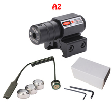 цена на Mini Red Dot Laser Sight Tactical for Picatinny and Rifle with 650nm Adjustable 11mm/20mm Picatinny/Weaver Mount Rail Hunting