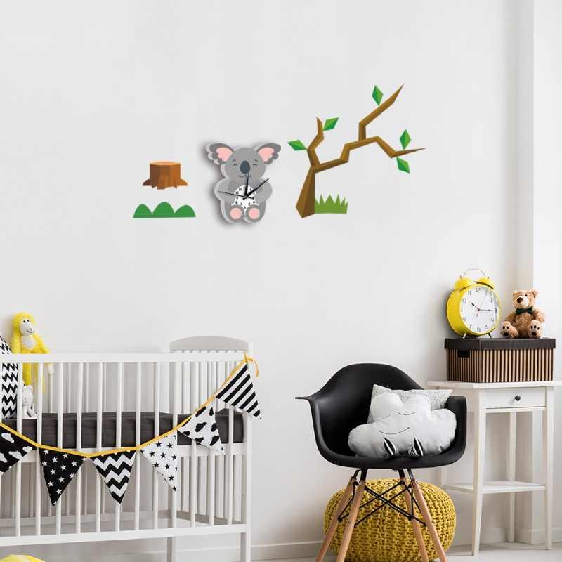 Детские Настенные заводные дизайн большие настенные часы мультфильмы подвесные