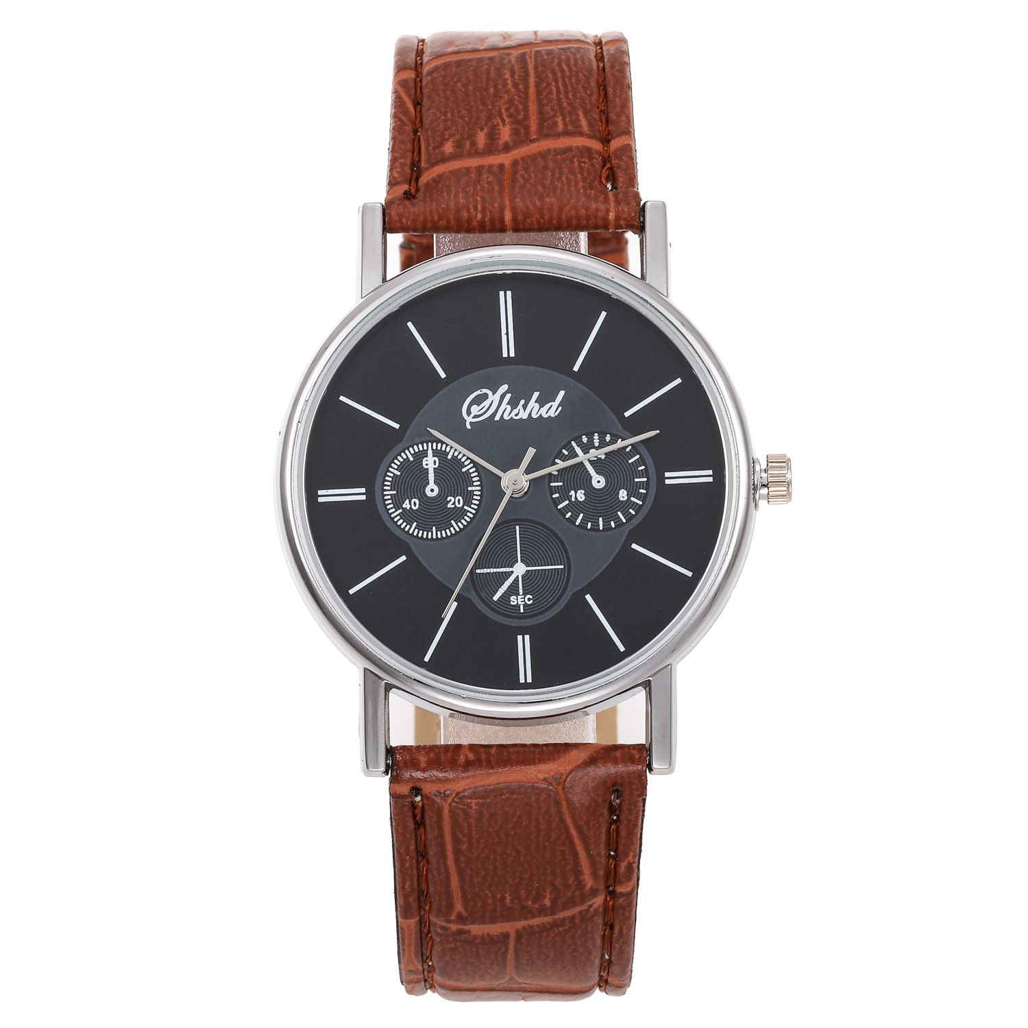Foreign Trade New Style Thin Eyes Belt Watch Simple Measuring Unisex Watch Wholesale