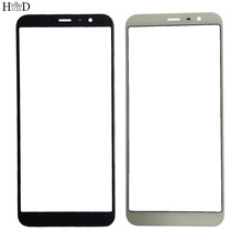 Mobile Front Outer Glass Lens Part For Meizu M6T Meilan 6T Front Glass Cover ( No Touch Screen Digitizer Panel ) Outer LCD OCA