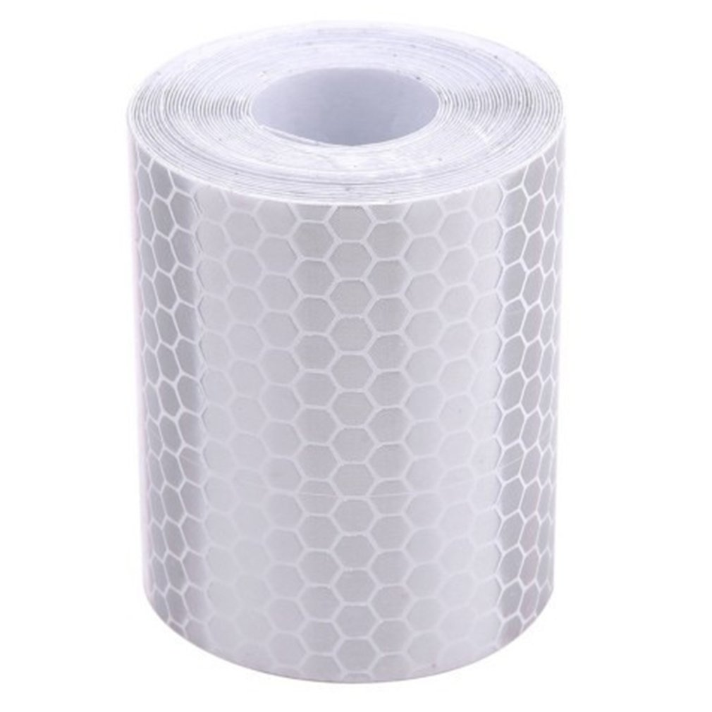 5cm*3m Safety Mark Reflective Tape Stickers Car-styling Self Adhesive Warning Tape Automobiles Motorcycle Reflective Film