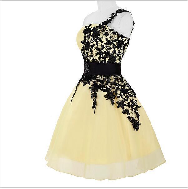 Jing Sheng Yuan Brand Shoulder White Short Formal Dress Agent Joining A