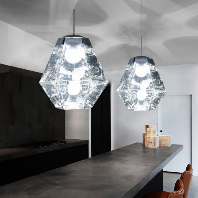 Nordic Lampen Industrieel Glass LED  Pendant Lights