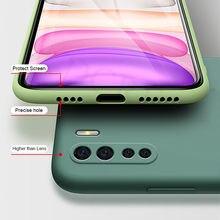 For Xiaomi Mi 9 Lite 9T Pro Case Liquid Silicone Shockproof Bumper Soft Case For Xiaomi Mi 8 9 T SE Note 10 Lite Pro Case Cover
