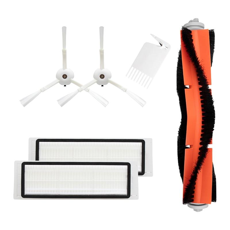 Brosse principale latérale filtre HEPA pour aspirateur Xiaomi 2/1 s pour Roborock S50 S55 Robot aspirateur pièces de rechange accessoires
