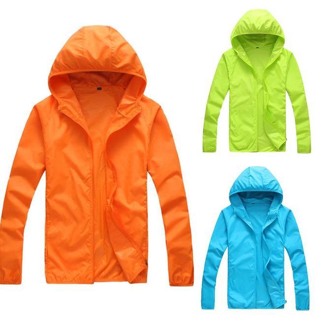 Quick Dry Skin Coat Sunscreen Waterproof UV Women thin Army Outwear Ultra-Light Windbreake Jacket Women Men Windproof Coat Jacke 1