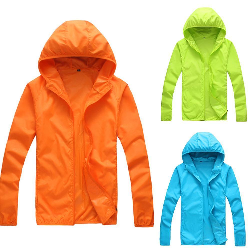 Quick Dry Skin Coat Sunscreen Waterproof UV Women thin Army Outwear Ultra Light Windbreake Jacket Women Men Windproof Coat Jacke