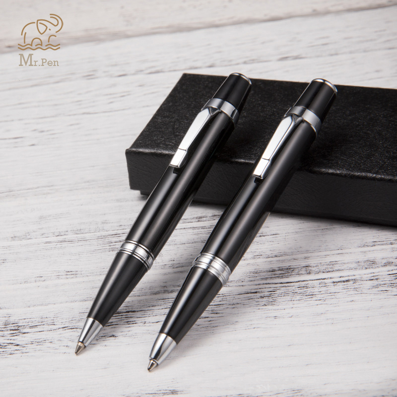 Luxury Mini Metal Ballpoint Pen High Quality Roller Pen Black Ink Refill Pen For Business Writing Tools Office School Supplies