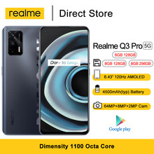 Nowy Realme Q3 Pro 5G Smartphone Android 11 6.43