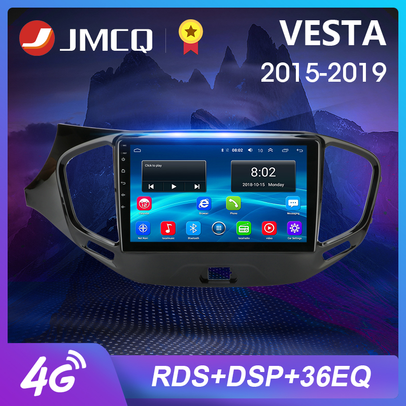 2Din 4G 2GB+32GB Android 8.1 Car Multimedia Video Player For Lada VESTA 2015-2019 Audio System Navigation GPS 2.5D+IPS 2 Din image