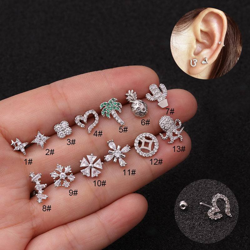EG/_ LX/_ UK/_ JN/_ Dangly Crystal Belly Button Bars Surgical Steel Navel Rings Body