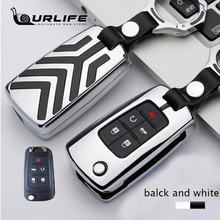 Zinc Alloy Car Key Case Cover For OPEL Astra Buick ENCORE ENVISION NEW LACROSSE Key Cover Protect Car Styling Decorated Keychain car aluminium alloy key case cover