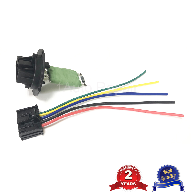Cable broche pr RESISTANCE CHAUFFAGE VENTILATION 206 307 C3 xsara 6450JP