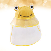 Hat Fisherman-Hat Protective with Transparent Face-Cover for Babies Kid 1PC Cap Outdoor
