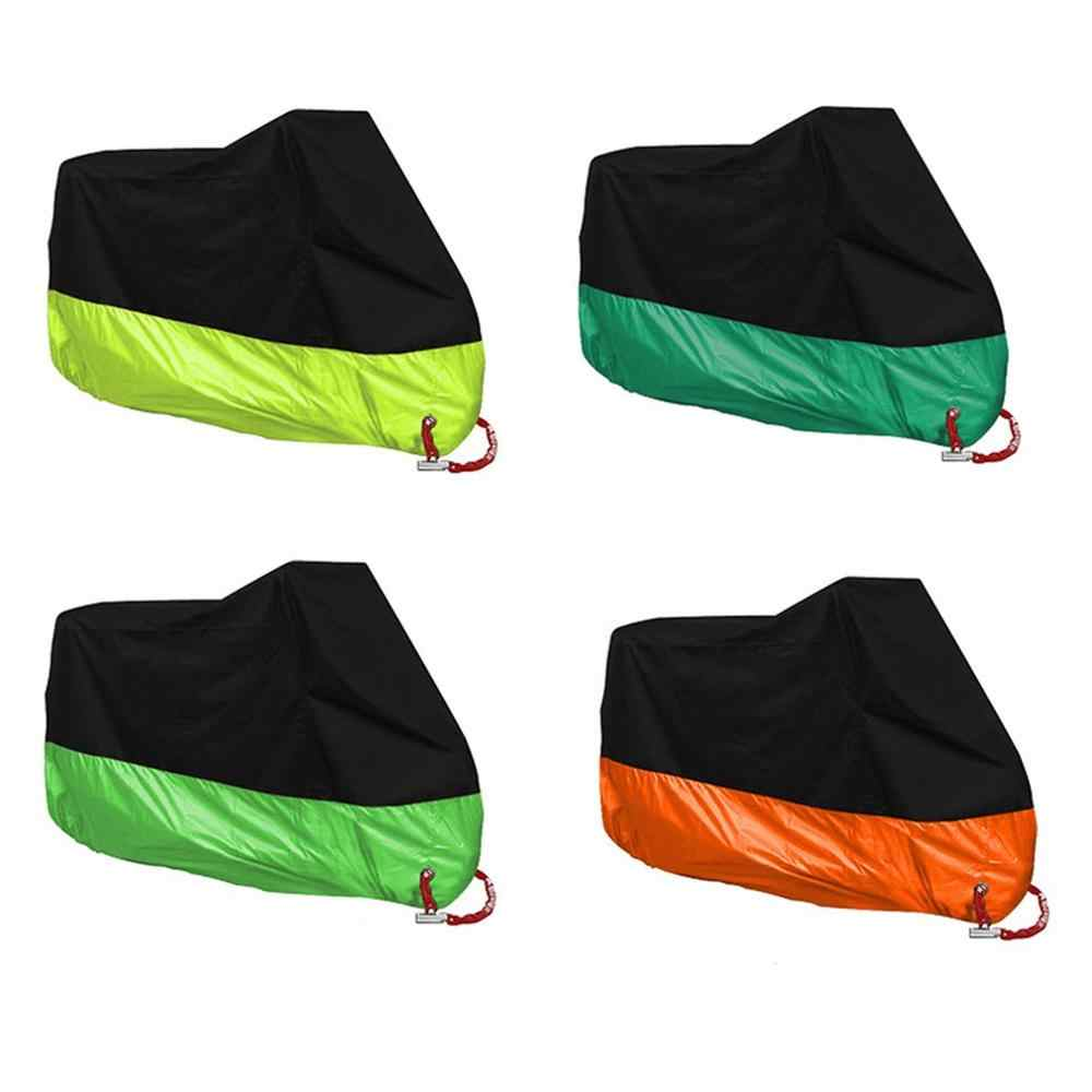 Motorcycle Cover 190t 210d 300d Sun Protection Rainproof Dustproof Anti-aging Durable Multicolor New