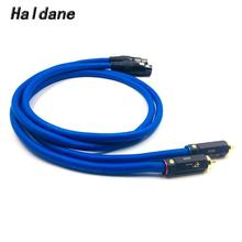 Haldane Pair BR-109 RCA Male to 3pin XLR Female Balacned Audio Interconnect Cable XLR to RCA Cable with CARDAS Clear-Light-USA haldane pair wbt 0144 rca to xlr male to male balacned audio interconnect cable xlr to rca cable with cardas clear light usa