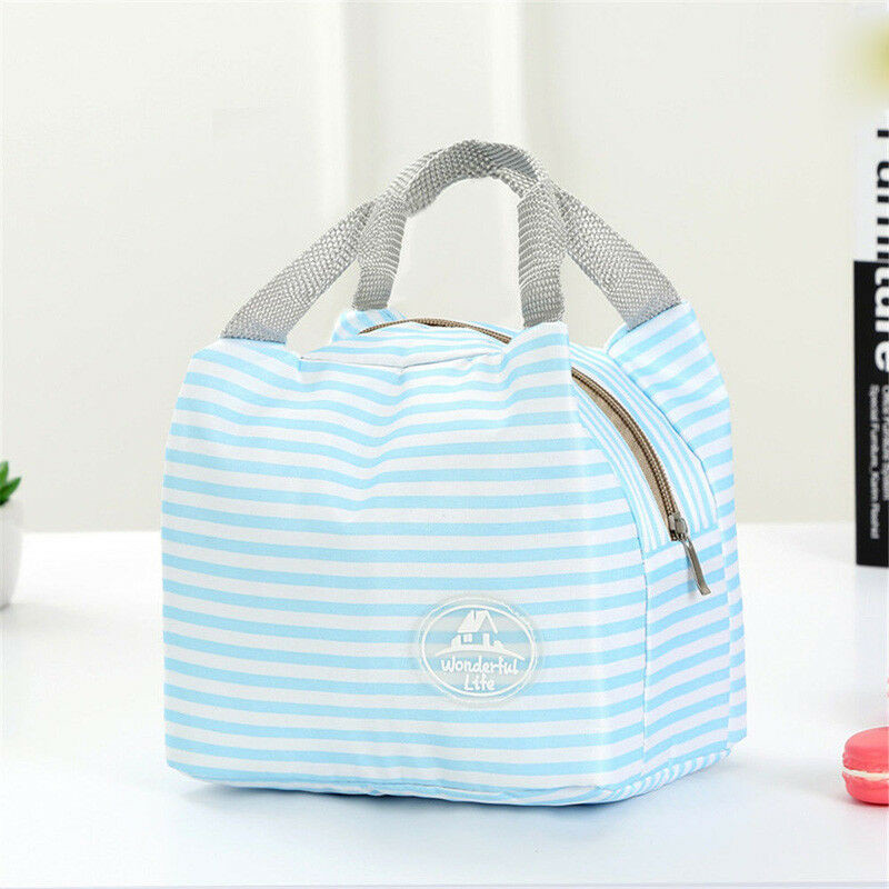 Functional Pattern Cooler Cute Portable Lunch Bags Thermal Insulated Container Lunch Box Portable Food Containe Storage Picnic