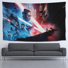Alta qualidade star-war série parede pendurado cortina decorações de parede cobertor scifi decoração lança cobertores tapeçaria toalha de mesa