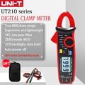 Цифровой мини-зажим UNI-T UNI T UT210E, бесконтактный Тестер Напряжения постоянного и переменного тока, емкость VFC