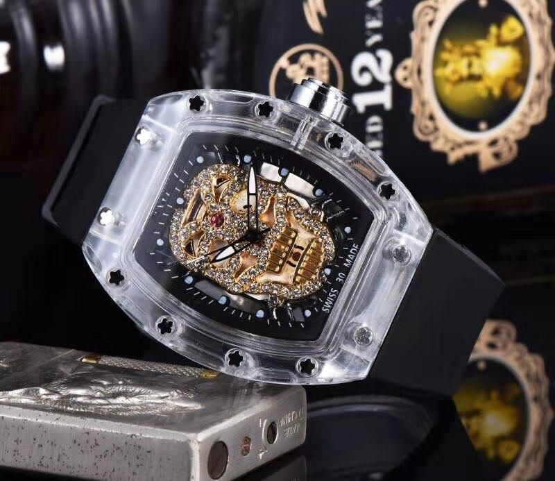 NEW DZ Watches Top Brand  DESIGN LUXURY GOLD CROWN BRACELET Stainless Steel Wrist Man  Male Clock
