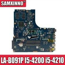 Новая Mianboard для For Lenovo Ideapad B50-70 материнская плата для ноутбука ZIWB2/ZIWB3/ZIWE1 LA-B091P I5-4200 2GB GPU
