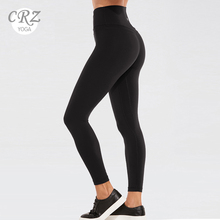 CRZ YOGA Women's Naked Feeling High-Rise Tight Yoga Pants Workout Fitness Leggings With High Elasticity-25 Inches high rise mesh pannel yoga leggings