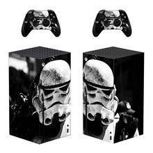 Nowy Film skórka naklejka naklejka na konsolę Xbox Series X i 2 kontrolery seria Xbox X skórka naklejka winylowa