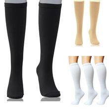 Compression Socks Support Stockings Travel Flight Socks (15-