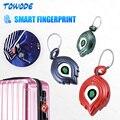 Смарт-замок Towode с блокировкой по отпечатку пальца, водонепроницаемый биометрический мини-замок без ключа, с USB-зарядкой, с паролем, с защитой...