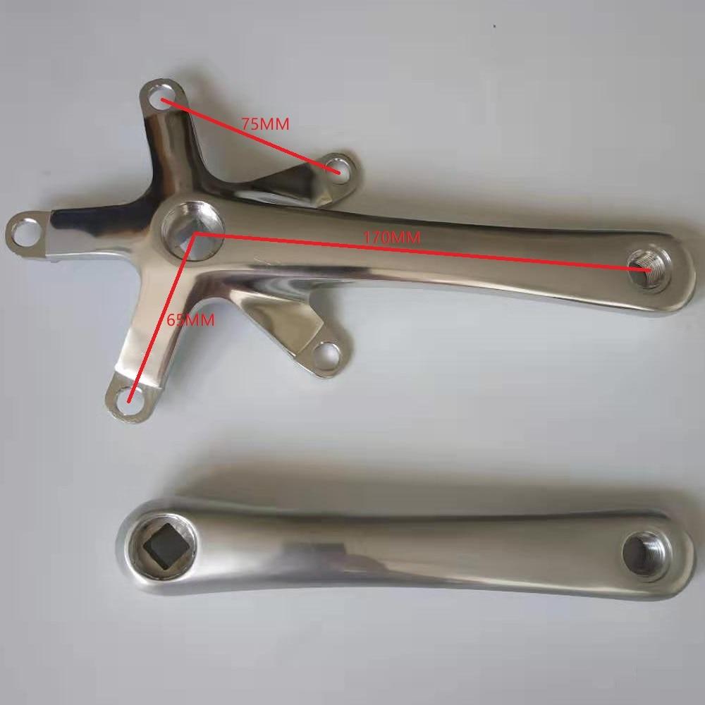 Fahrrad Kurbel Faltrad Kurbel Länge 170mm BCD 130 Radfahren Repait Werkzeug