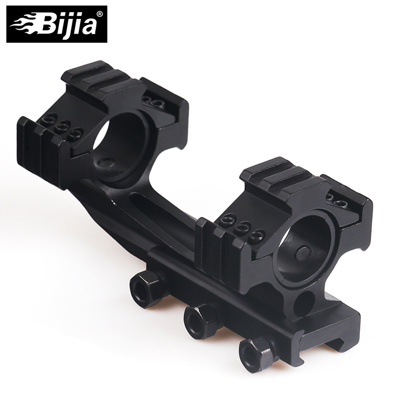 Rifle Scope Rail Mount Rings 25 4mm 30mm Cantilever for 20mm Picatinny Rail Optics Hunting sight scope air gun caza in Riflescopes from Sports Entertainment