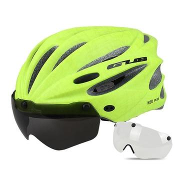 GUB K80 Cycling Helmet with Visor Magnetic Goggles Integrally-molded 58-62cm for Men Women MTB Road Bicycle  Bike Helmet 16